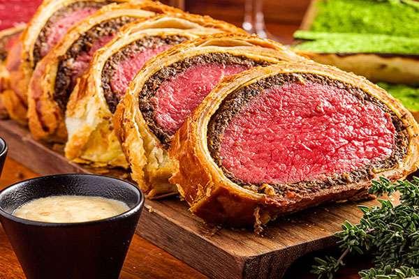 Beef Wellington anagram image