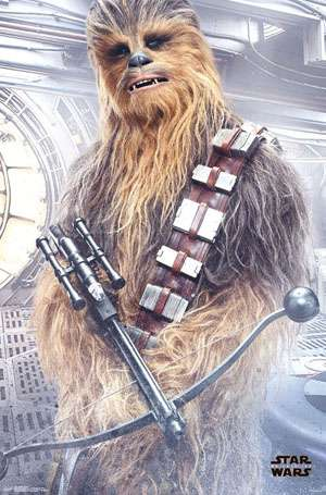 Chewbacca star wars character image