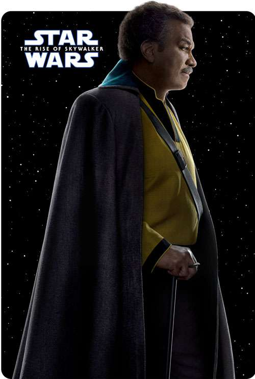 Lando-Calrissian the rise of skywalker poster