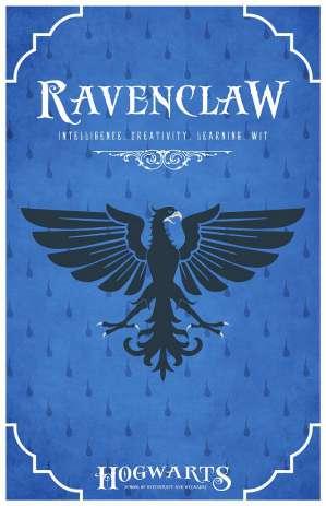 Ravenclaw hogwarts house of harry potter image