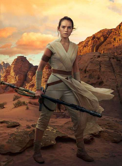 Rey the rise of skywalker poster