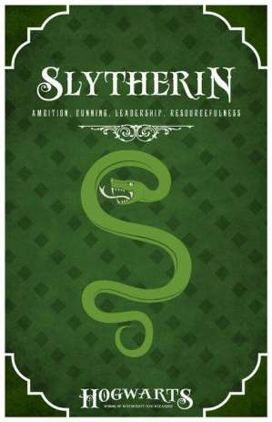 what's your hogwarts house - Slytherin hogwarts house of harry potter image