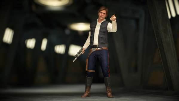Star Wars Battlefront 2 Yavin Ceremony Han Skin pic