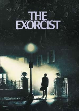 horror films anagrams - The Exorcist horror movie poster img