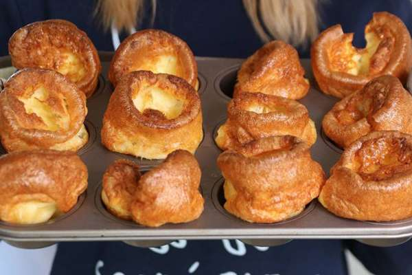Yorkshire Pudding anagrams of food dishes image