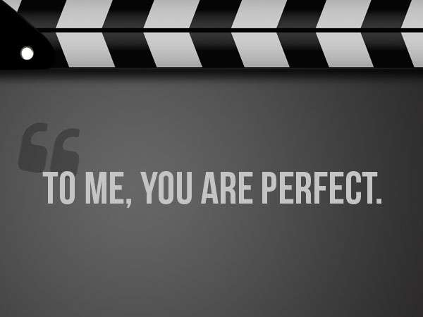 famous-christmas-movie-quotes | to me you are perfect quote
