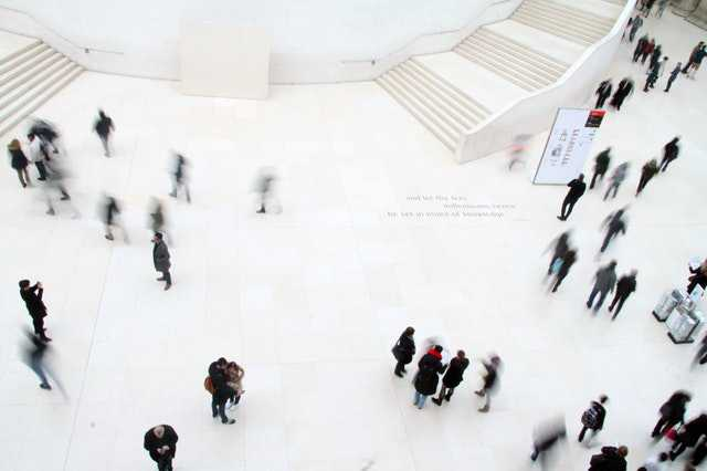high-angle-photography-of-people-in-ground
