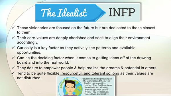 infp myers briggs types img