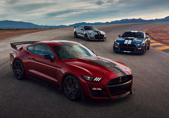 2020 ford mustang wallpaper