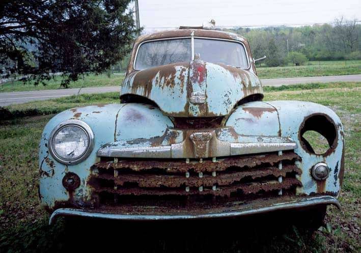holw old is your car image