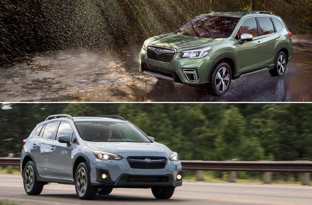 subaru Forester or XV Crosstrek cars image