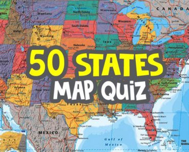 50-states-map-quiz - Do you know all 50 states quiz image