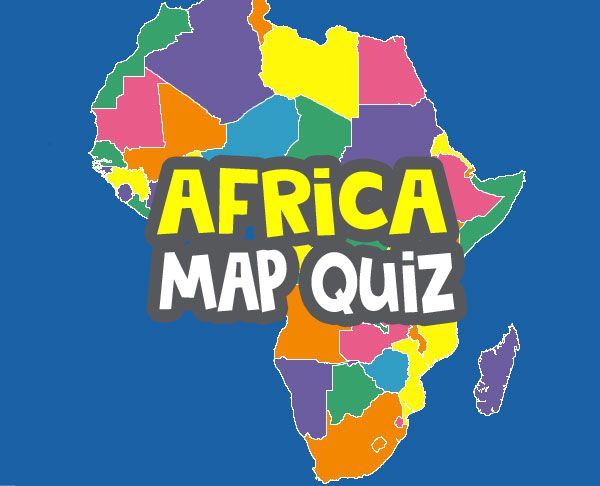 africa map quiz image