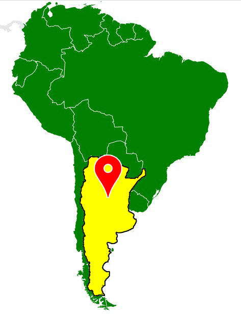 south america map - argentina-blank-map
