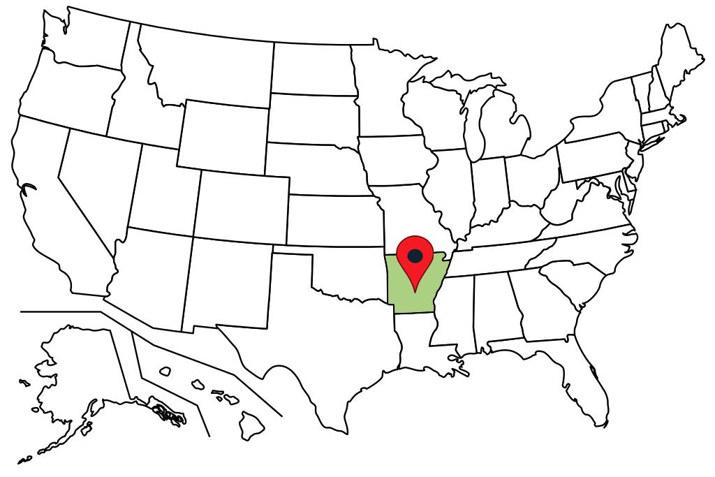 arkansas-blank-map