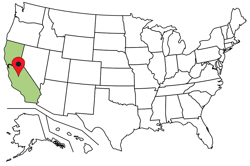 california-blank-map