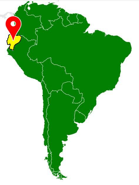 south america map - ecuador-blank-map