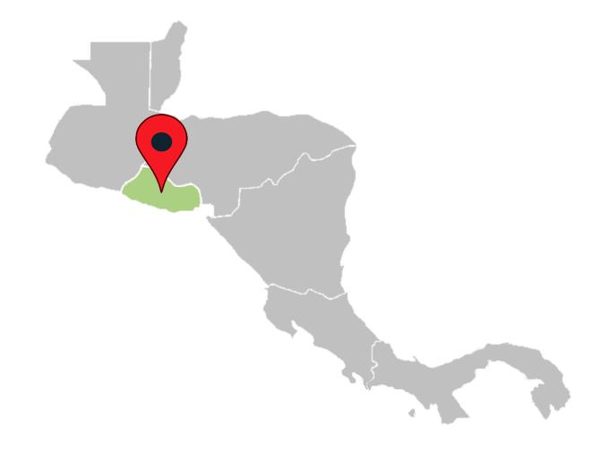 central america map quiz - el-salvador-central-america-blank-map