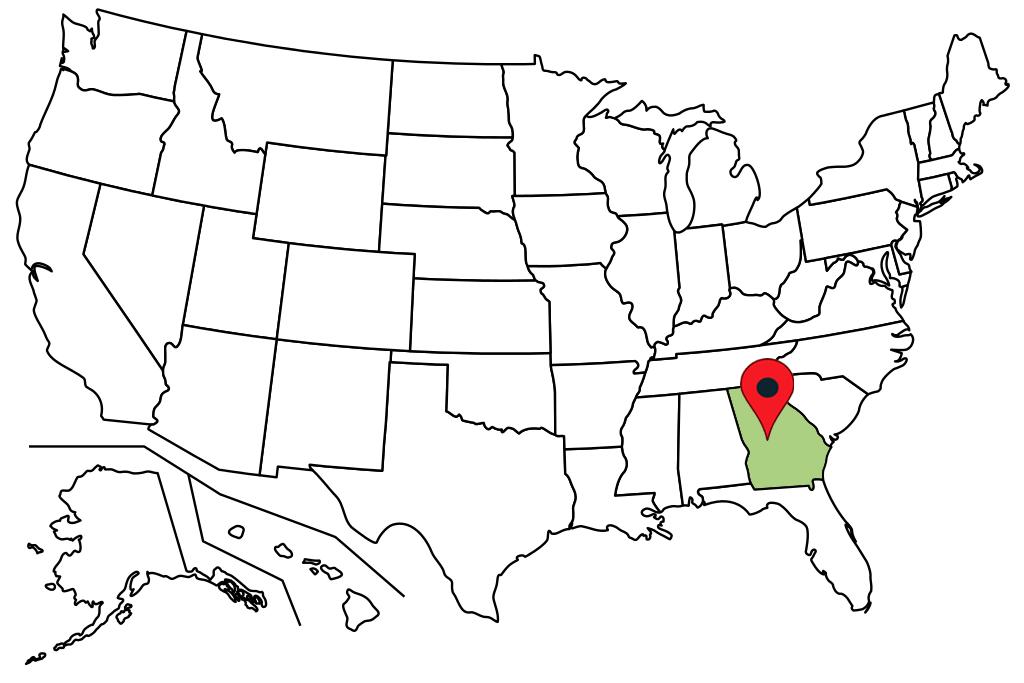 georgia-blank-map
