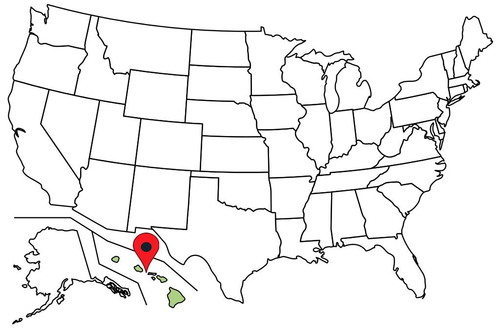 hawaii-blank-map