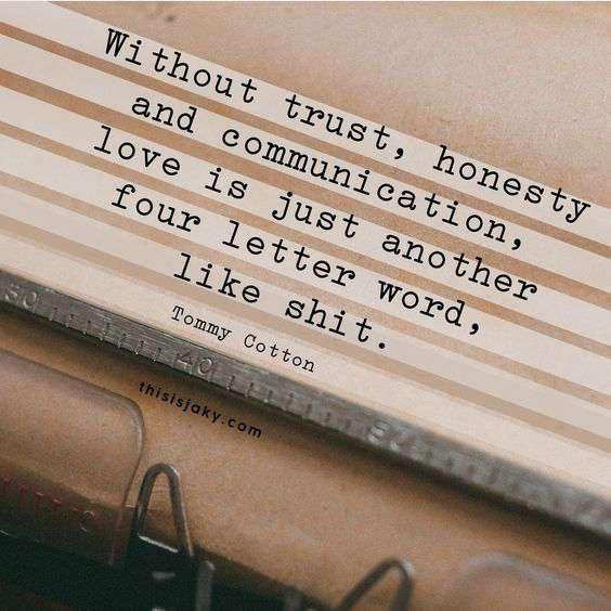 honest relationship quotes image