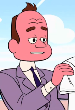 mayor dewey aka bill dewey steven universe