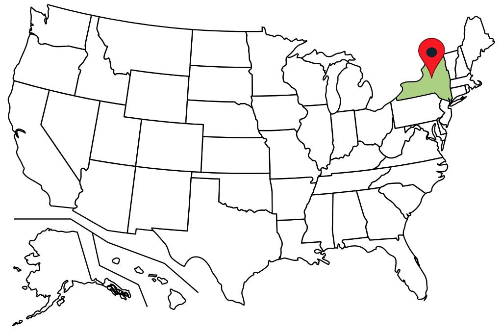 new-york-blank-map