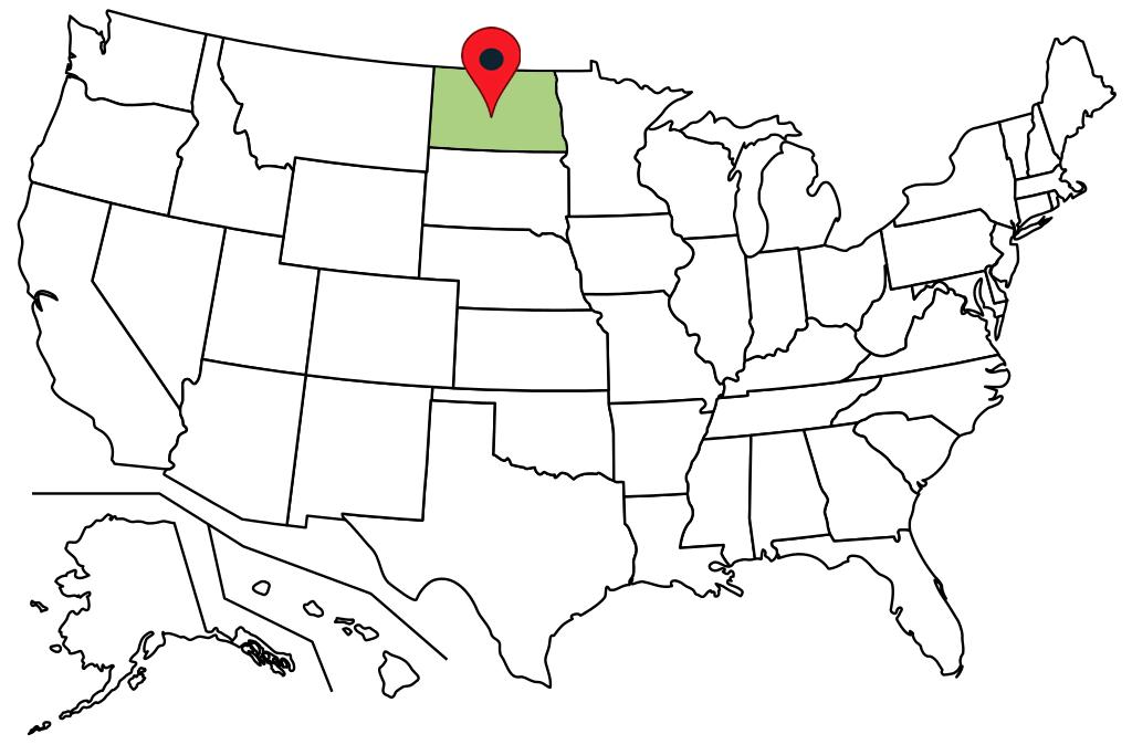 north-dakota-blank-map