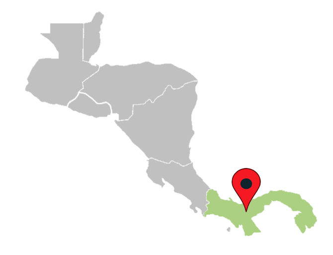 central america map quiz - panama-central-america-blank-map