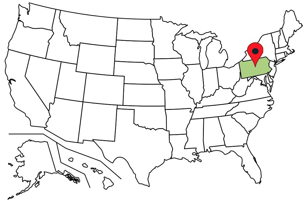 pennsylvania-blank-map