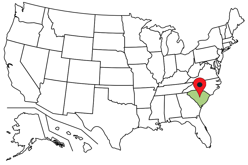 south-carolina-blank-map
