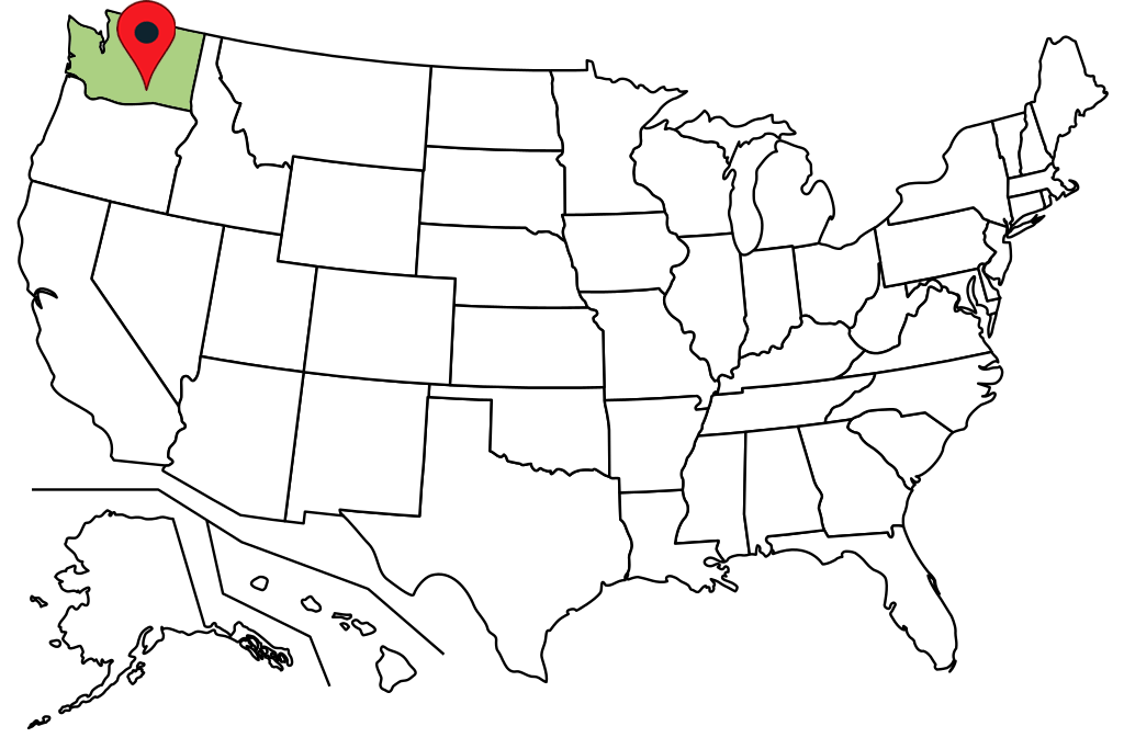 washington-blank-map