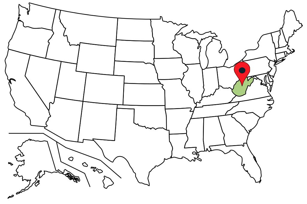 west-virginia-blank-map