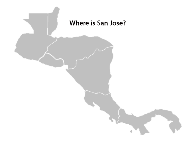 map of central america quiz - where-is-san-jose