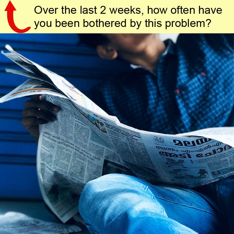 how depressed am i quiz - 7-trouble-in-concentration-reading-newspaper img