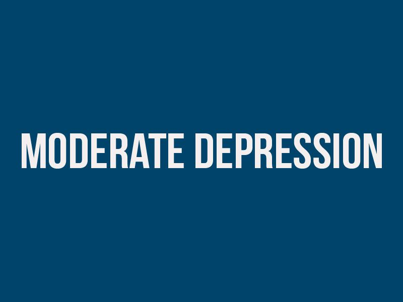 how depressed am i quiz - moderate-depression result img
